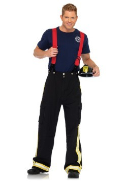 Men's Hot Fire Captain Costume