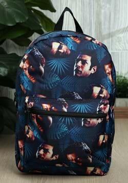 Jurassic Park Jeff Goldblum All Over Print Backpack-1