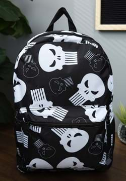 Marvel The Punisher Logo All-Over Print Backpack