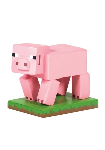 Minecraft Pig Figuirine