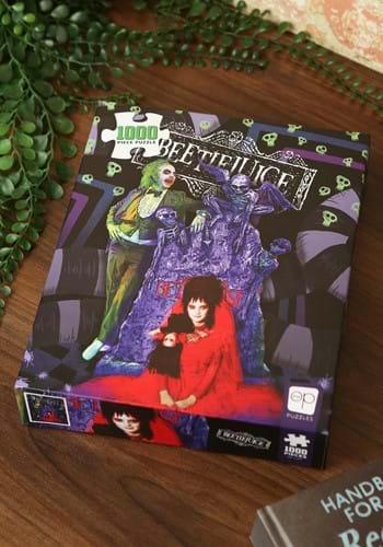 "Beetlejuice ""Graveyard Wedding"" 1000 Piece Puzzle-1"