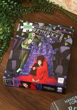 "Beetlejuice ""Graveyard Wedding"" 1000 Piece Puzzle-1"