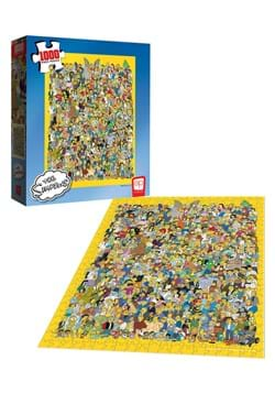 Simpsons Cast 1000 Piece Puzzle