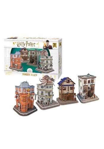 Harry Potter Diagon Alley Paper 3D Puzzle