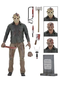 "Friday the 13th Part 4 Jason Ultimate 7"" Scale Act Alt 1 UPD"