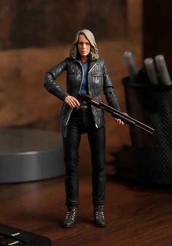 """Halloween 2018 Laurie Strode 7"""" Scale Action Figure Main Upd"""