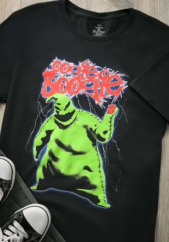 Mens Nightmare Before Christmas Oogie Boogie T-Shirt
