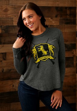 Harry Potter Hufflepuff Womens Long Sleeve Tee Update