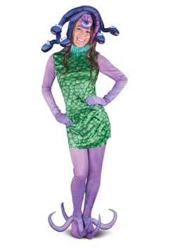 Adult Womens Monsters Inc Celia Costume
