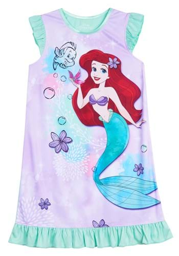 Girls Disney Ariel Dorm Nightgown Upd