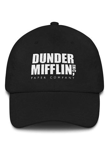 Dunder Mifflin Hat Black