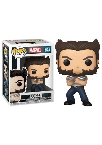 POP Marvel XMen 20th Wolverine in Tank Top Bobblehead