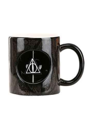HP Master of Death Ceramic Mug w/ Spinner New