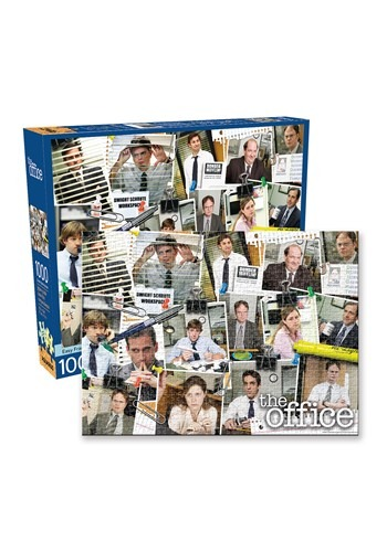 The Office- Cast 1000 Piece Puzzle