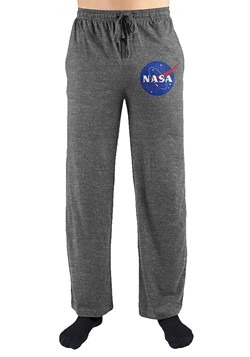 Adult NASA Gray Sleep Pants