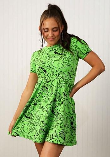Women's Ghostbusters Slime Dress update