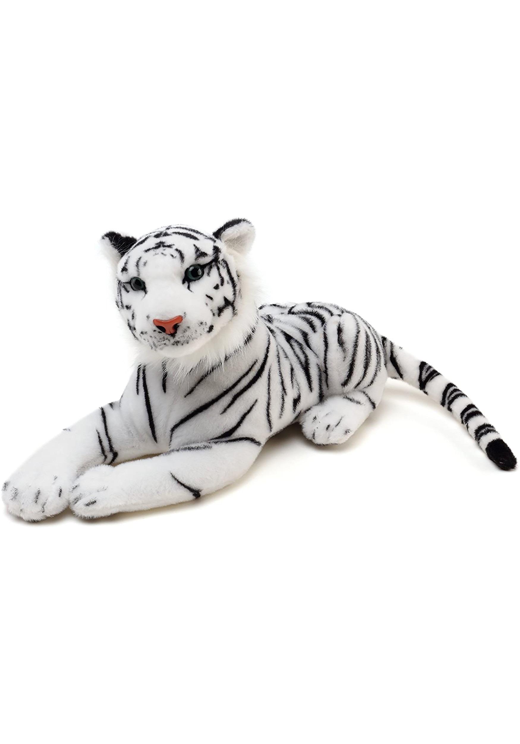 Saphed the White Tiger: Animal Plush