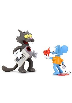 The Simpsons Itchy & Scratchy Medium Figure