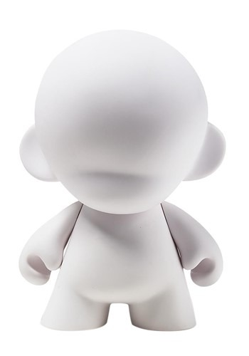 """7"""" MunnyWorld Munny Blank Art Toy"""