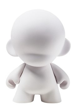 "7"" MunnyWorld Munny Blank Art Toy"