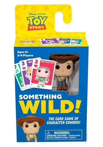 Signature Games: Something Wild Card Game - Toy Story