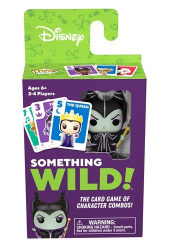 Signature Games: Something Wild Card Game - Disney Villains