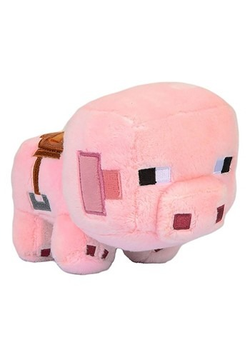 Minecraft Saddled Pig Plush