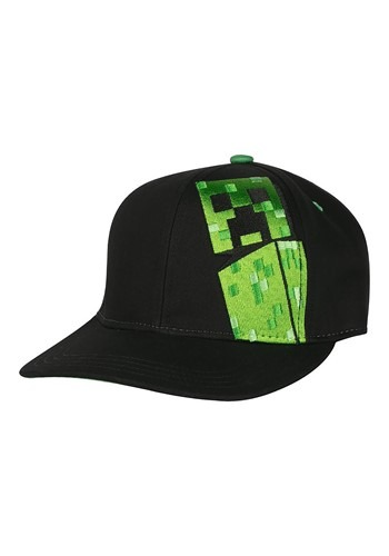 Minecraft Creepin Youth Snapback Hat