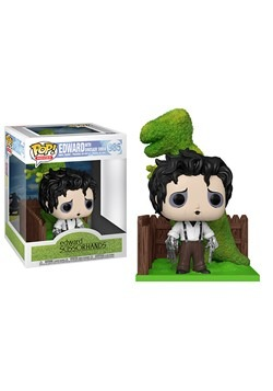 POP Deluxe: Edward Scissorhands- Edward & DinoHedge