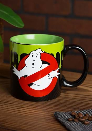 Ghostbusters WHO YOU GONNA CALL 20oz JUMBO CERAMIC MUGS