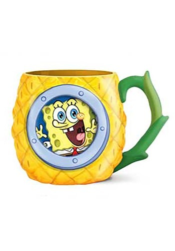 SPONGEBOB PINEAPPLE WINDOW 3D MUGS