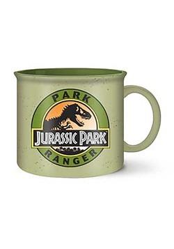 Jurassic Park Ranger 20 oz Jumbo Ceramic Camper Mug