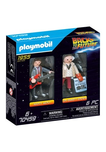 Playmobil Back to the Future Marty Mcfly and Dr. Emmett Brow