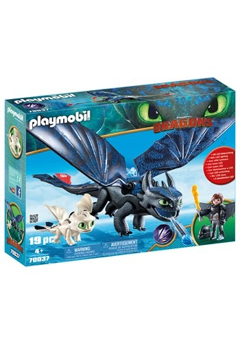 Playmobil How to Train Your Dragon Hiccup and Toothless with