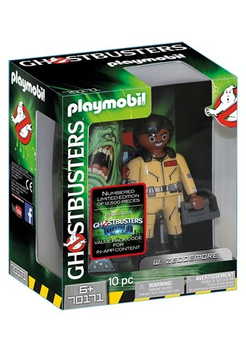Playmobil Ghostbusters Collector's Edition W. Zeddemore