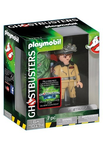 Playmobil Ghostbusters Collectors Edition R Stantz Figure