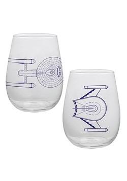 Star Trek 18 oz. Contour Glasses - Set of 2