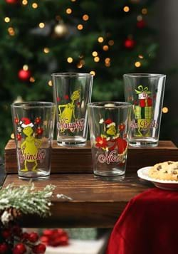 Dr. Seuss The Grinch 16 oz. Glasses Update