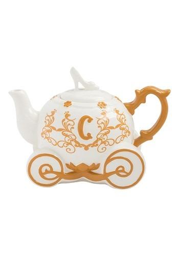 Disney Cinderella Carriage Sculpted Ceramic Teapot