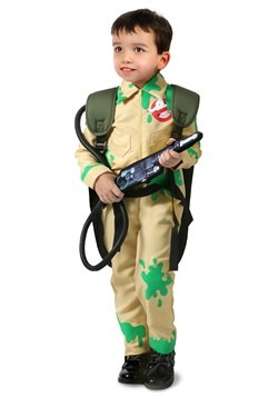 Ghostbusters Kid's Slime Covered Ghostbuster Costume