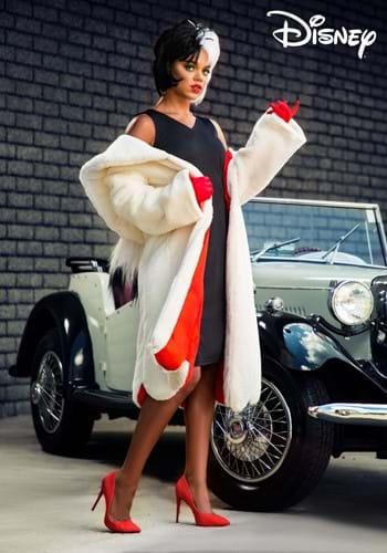 Women's Deluxe Cruella De Vil Costume-2