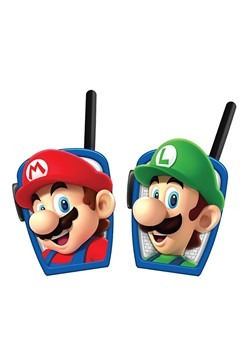 Super Mario Bros Mid Range Walkie Talkies