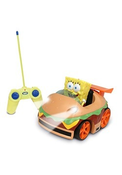 R/C Krabby Patty R/C Car w/ SpongeBob Figure