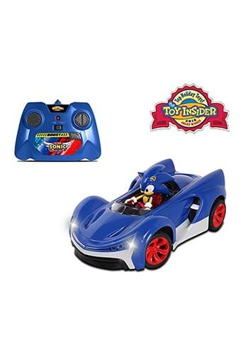 Sonic the Hedgehog R/C Car w/ Turbo Boost