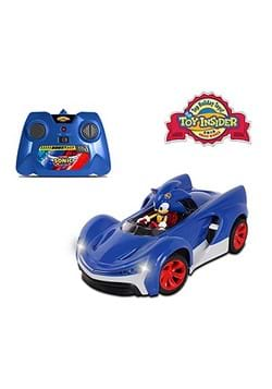 Sonic the Hedgehog R/C Car w/ Turbo Boost