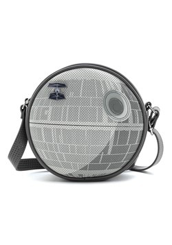 Loungefly Star Wars Death Star Crossbody Bag w/ Pi