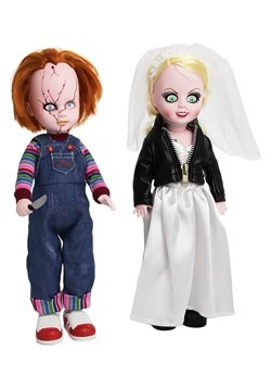 Living Dead Dolls Chucky & Tiffany Box Set