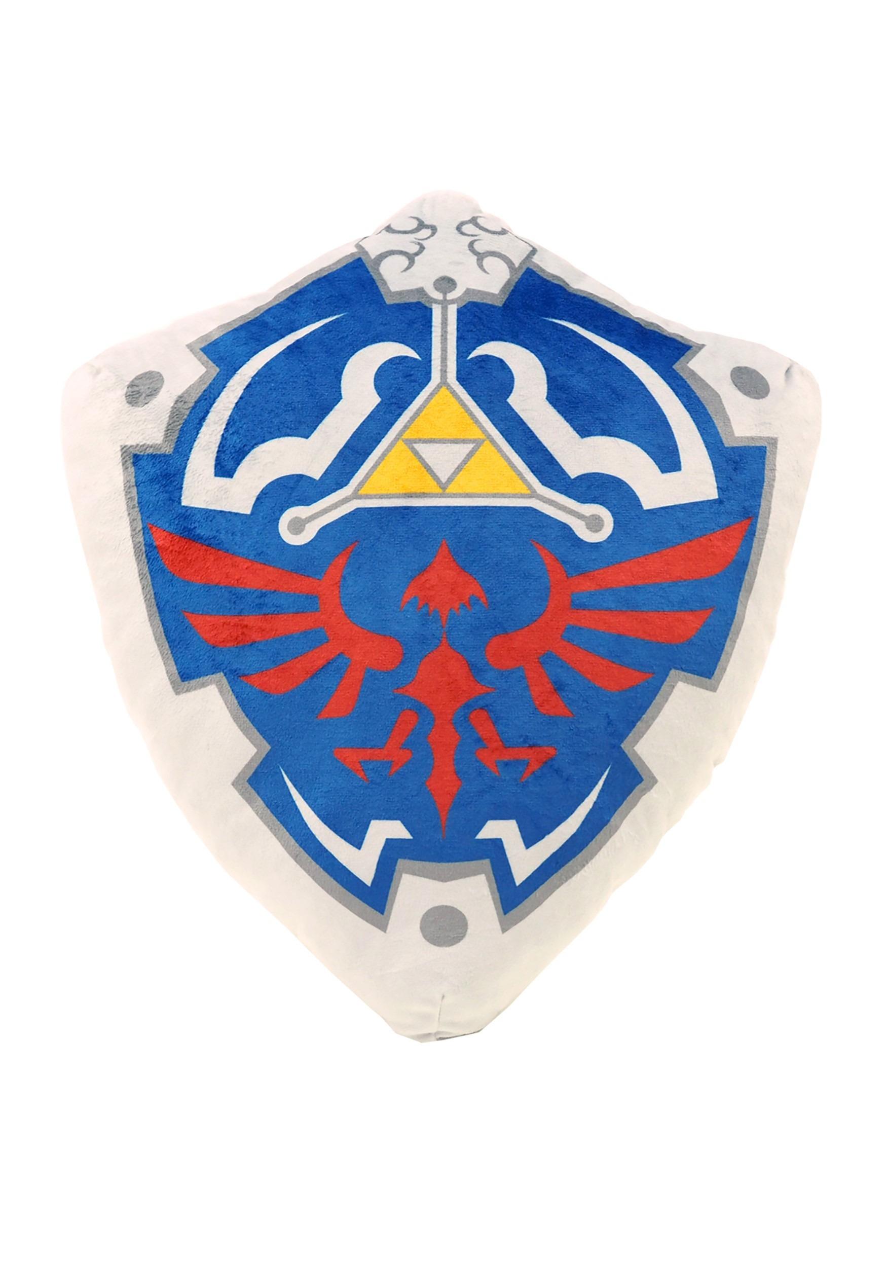 Legend of Zelda Hylian Shield Stuffed Cushion