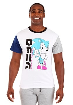 Mens Color Block Sonic Tee
