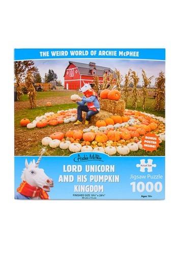 Lord Unicorn And His Pumpkin Kingdom Jigsaw Puzzle
